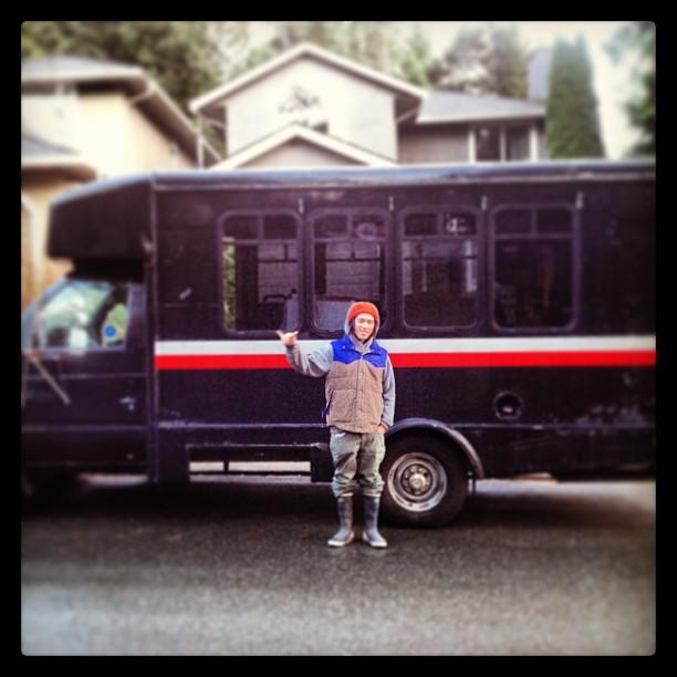 Tamo Campos and the Veggie School Bus!