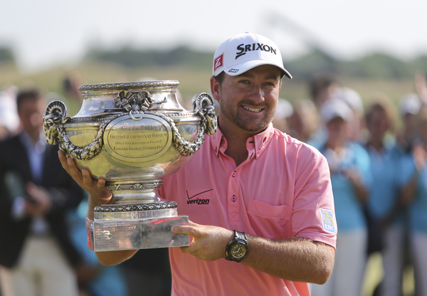 Graeme McDowell. Picture David Lloyd/www.golffile.ie