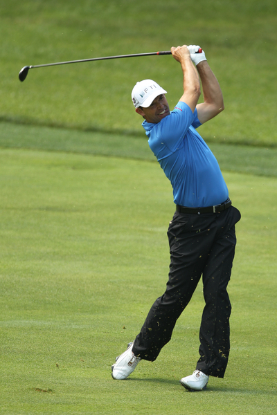 Padraig Harrington in action at last week's US Open. Credit: golffile.ie