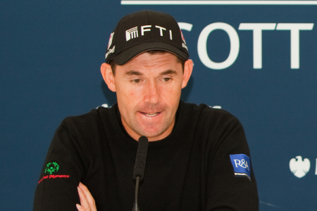 """What musical instrument would I make out of a vegetable?….."" Padraig Harrington pictured by Stuart Adams,  www.golffile.ie"
