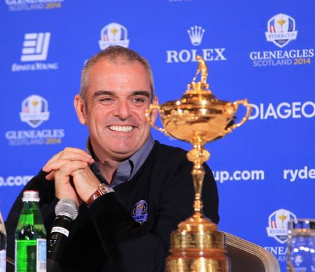 Paul McGinley is the first Irishman to captain a European Ryder Cup team. Picture Stuart Adams www.golftourimages.com