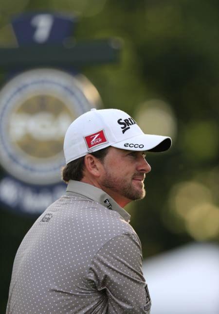 Graeme McDowell in practice at Oak Hill. Picture: Eoin Clarke www.golffile.ie