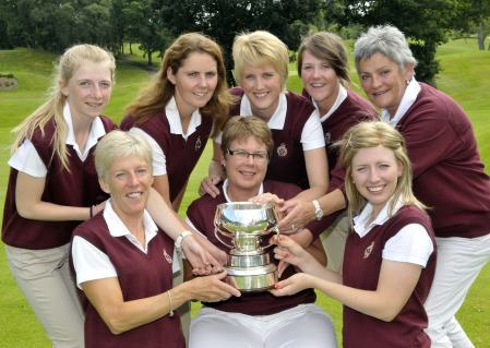 Royal Portrush Ladies Senior Cup champions 2013