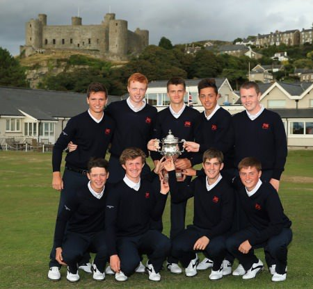 Great Britain and Ireland's winning Jacques Leglise team 2013