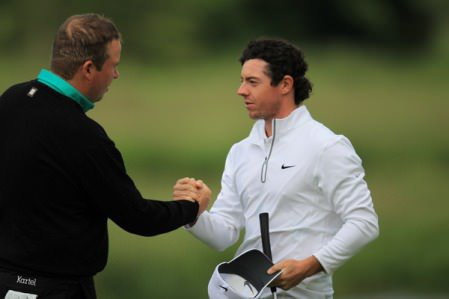 Shane Lowry and Rory McIlroy