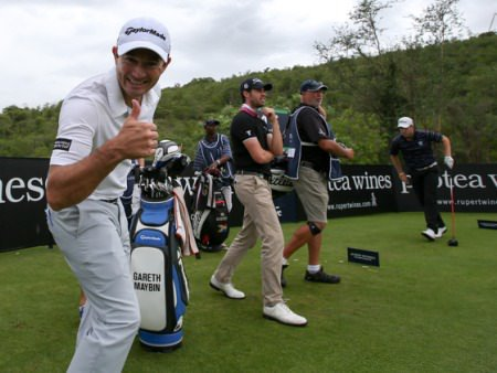 Gareth Maybin gives the thumbs up at Leopard Creek