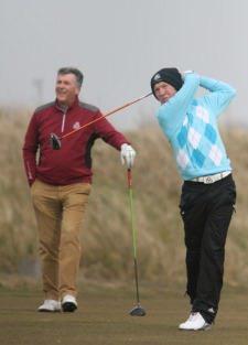 Kevin Knightly and Gavin Moynihan