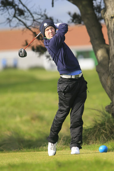 Gavin Moynihan during the Irish Amateur Open at Royal Dublin last May, Picture: Thos Caffrey www.golffile.ie