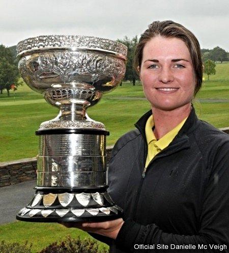 Irish Amateur Close Champion 2011. Picture via  www.daniellemcveigh.co.uk