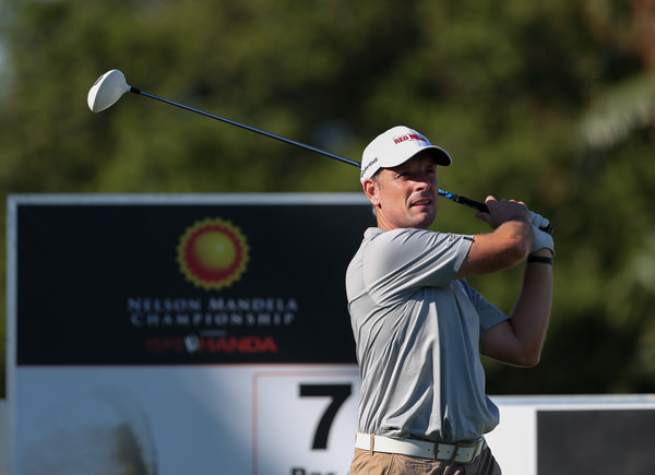David Higgins finished 11th in the Nelson Mandela Championship. Picture: David Lloyd / www.golffile.ie