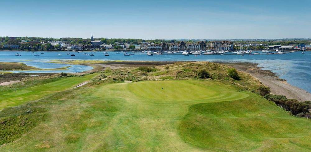 The boat used to take golfers from Malahide, pictured here, to The Island. Picture ©  theislandgolfclub.com