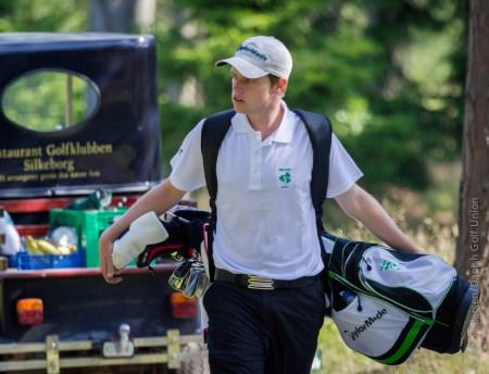 Proud Irishman. Kevin Phelan during the European Amateur Team Championships this year.