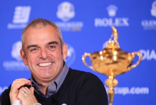 Paul McGinley at his announcement as European Ryder Cup captain.Picture Stuart Adams www.golftourimages.com