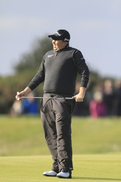 Shane Lowry laments a missed putt in the final round of the Alfred Dunhill Links Championship at St Andrews. Picture: Thos Caffrey / www.golffile.ie