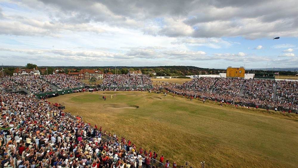 Royal Liverpool during the 2006 Open Championship. Picture via  www.royal-liverpool-golf.com