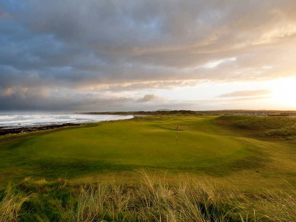 Doughmore Beach. Picture via  Doonbeg Golf Club