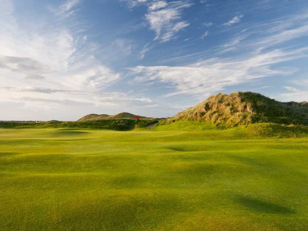 On a  sunny day, Doonbeg positively sparkles. Picture via  Doonbeg Golf Club