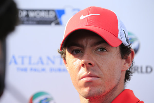 Rory McIlroy at the DP World Tour Championship, Dubai. Picture: Denise Cleary www.golffile.ie