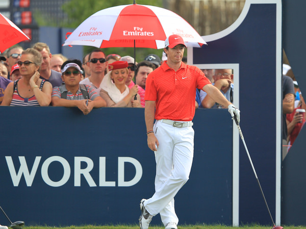 Can Rory McIlroy regain the world No 1 ranking in 2014? Picture: Stuart Adams /  www.golffile.ie