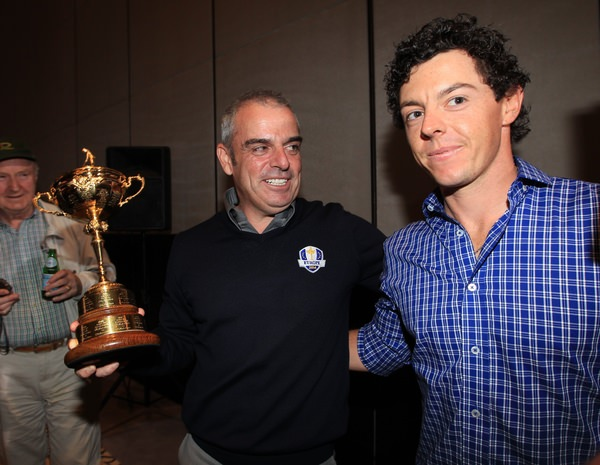 European captain Paul McGinley needs Rory McIlroy in top form for the Ryder Cup.Picture: Fran Caffrey / www.golffile.ie
