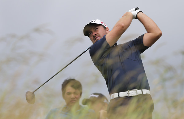 Graeme McDowell in full flow with the driver at the Open de France. Picture: David Lloyd /  www.golffile.ie