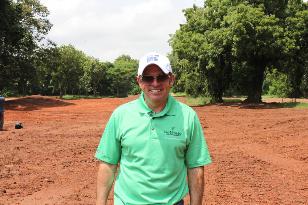 Paul McGinley is creating his own golfing legacy in Ghana and other places around the world but his favourite courses are on more traditional golfing terrain.