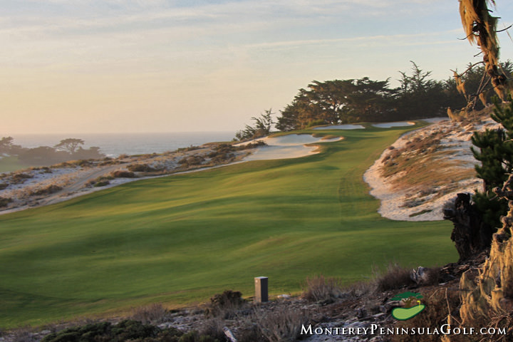 The eighth fairway at Cypress Point. Picture via Cypress Point Club