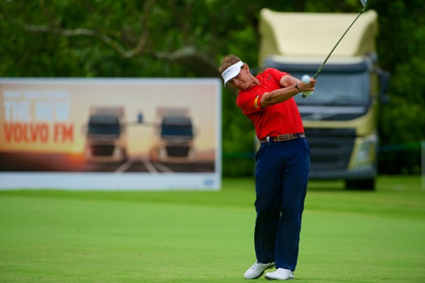 Joost Luiten in action at Durban Country Club. Picture © Volvo in Golf