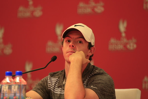 Rory McIlroy visited the media centre to speak about the ruling. Picture: Eoin Clarke www.golffile.ie