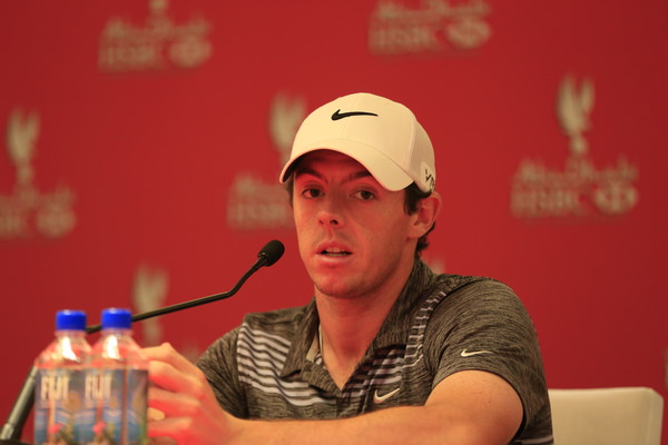 Rory McIlroy was upset after being penalised two strokes. Picture: Eoin Clarke www.golffile.ie