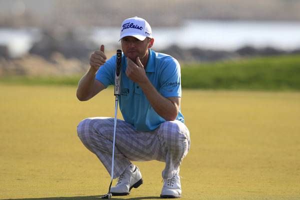 Michael Hoey, 10th in Abu Dhabi last week, is just four shots off the lead in Qatar. Picture: Eoin Clarke  www.golffile.ie