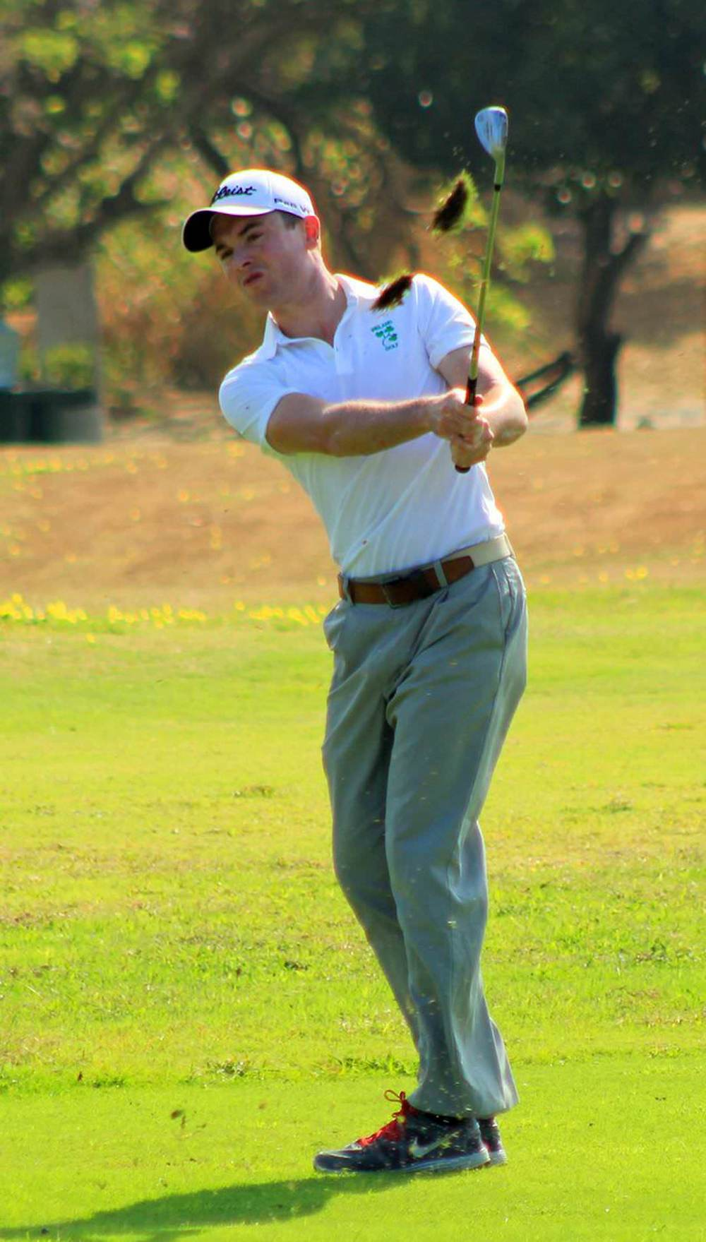 Stephen Healy in action in Colombia. Picture via  federacioncolombianadegolf.com
