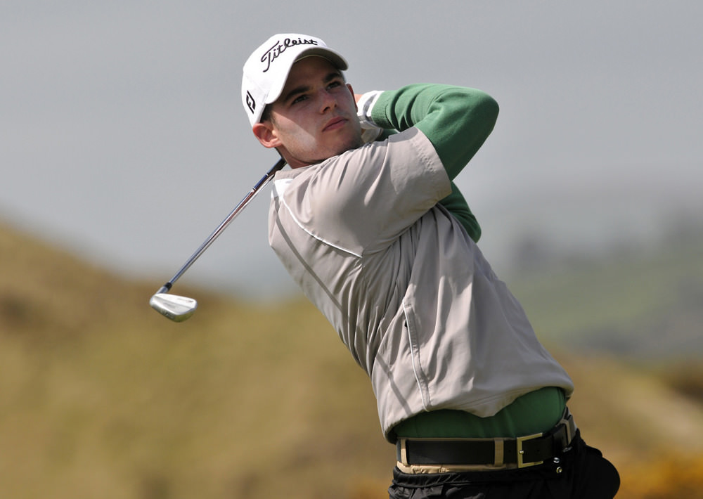 Brian Casey in action at The European Club v the MGA last year. Picture Pat Cashman cashmanphotography.com