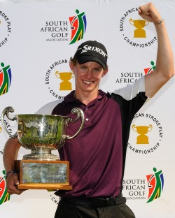 2014 South African Stroke Play champion Jason Smith. Credit Dale Boyce /  www.saga.co.za