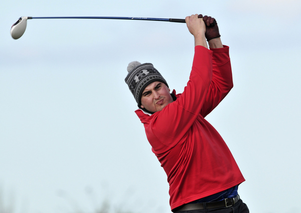 John Greene, the 2010 South of Ireland champion, is first off in the second RaboDirect Hilary Golfing Society outing of the season at Portmarnock Hotel and Golf Links on Sunday.