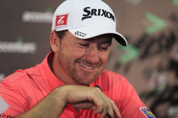 Graeme McDowell is in good form in every sense of the word. Picture: Fran Caffrey www.golffile.ie