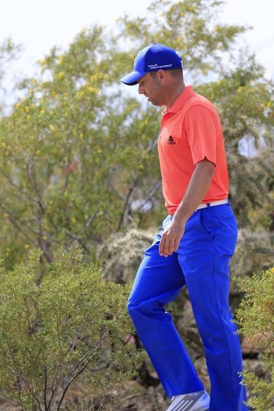Sergio Garcia during the third round in Tucson. Picture Fran Caffrey/www.golffile.ie