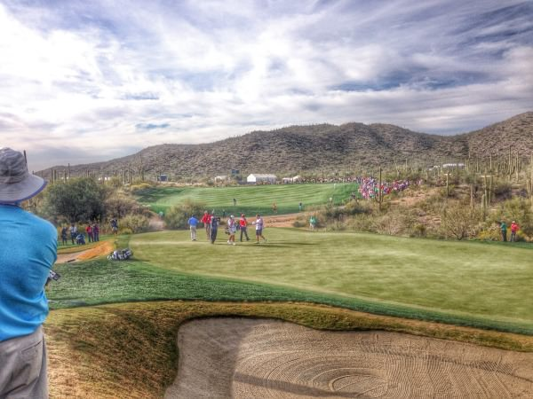 Graeme McDowell couldn't extend the match beyond the 18th at Dove Mountain.