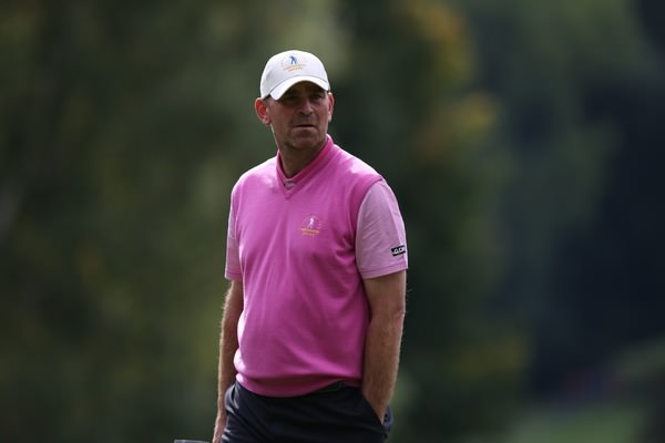 Thomas Bjorn has defended the European Tour's decision to stage the Eurasia Cup in Malaysia next month, despite opposition from the Ballesteros family. Pictured at the 2013 Seve Trophy by David Lloyd /  www.golffile.ie