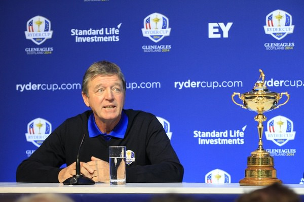 Des Smyth at Thursday's Ryder Cup vice-captaincy announcement in Dublin. Picture Eoin Clarke /  www.golffile.ie