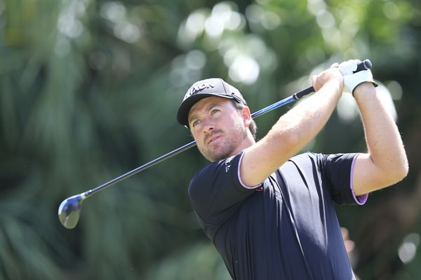 Graeme McDowell showed his fighting qualities on a tough day at Trump National Doral. Picture: Fran Caffrey  www.golffile.ie