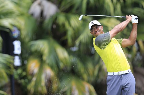 Tiger Woods is just six shots off the lead despite rounds of 76 and 73. Picture: Fran Caffrey  www.golffile.ie