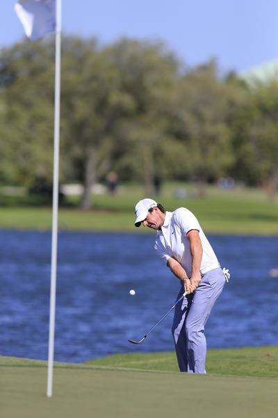 Rory McIlroy was 54th of the 67 finishers for scrambling at Doral. Picture: Fran Caffrey www.golffile.ie
