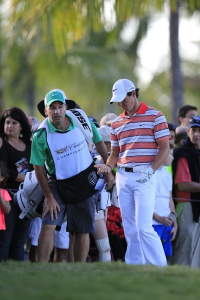 Saturday was a tough day for Rory McIlroy at Doral. Picture: Fran Caffrey www.golffile.ie