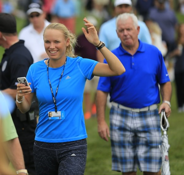 Rory McIlroy will be watching Caroline Wozniacki, pictured here at the Honda Classic, in Indian Wells this week.Picture: Fran Caffreywww.golffile.ie