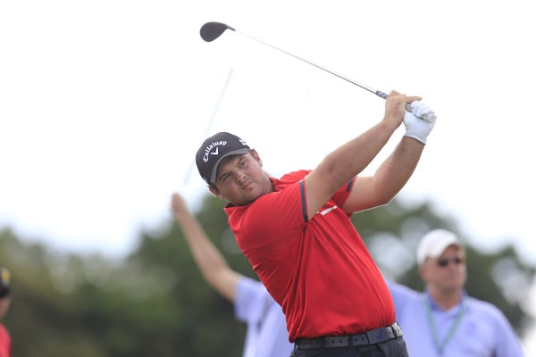 Patrick Reed wouldn't mind taking on Ian Poulter, Rory McIlroy or Graeme McDowell in the Ryder Cup. Picture: Fran Caffrey www.golffile.ie