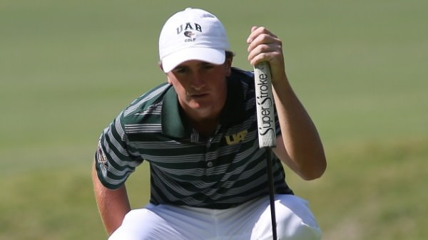Paul Dunne is having a fine season with UAB, winning twice already. Picture via www.uabsports.com