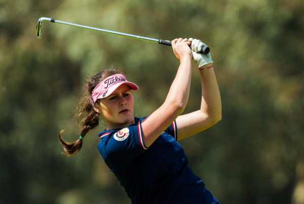 Olivia Mehaffey, pictured during the first round of the Lalla Meryem Cup, Golf De L'Ocean D'Agadir, Morocco. Credit: Tristan Jones/LadiesEuropeanTour.com