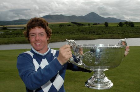Rory McIlroy won the 2005 Irish Close Championship at Westport. But can he win the Masters?