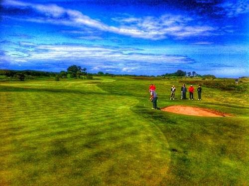 County Louth host the RaboDirect Hilary Golf Society on Sunday. Picture © Brian Keogh